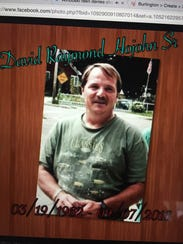David Hojohn, 54, died after being punched in the head