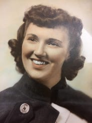 Hodges in an undated family portrait, circa 1940s.