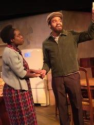 """Alicia Marie Douglas, Robert Colyer in """"A Raisin in"""