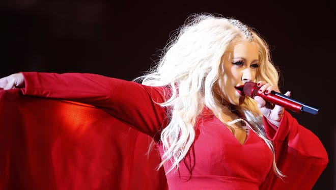 In this May 28, 2016 file photo, Christina Aguilera performs during a concert at the annual Mawazine Music Festival in Rabat, Morocco. She brings her Liberation Tour toHard Rock Live at Etess Arena in Atlantic City on Friday, Sept. 28 at 8 p.m.