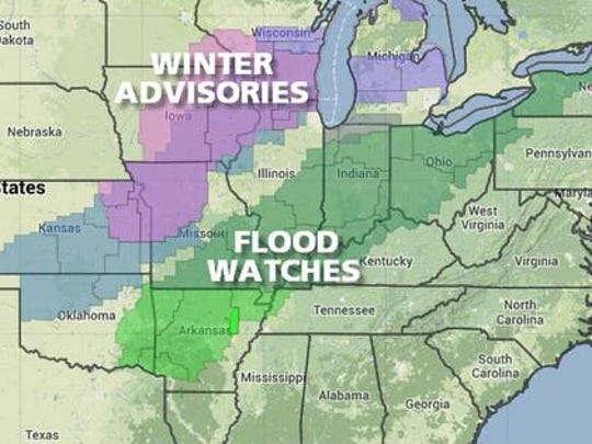 Advisories and watches
