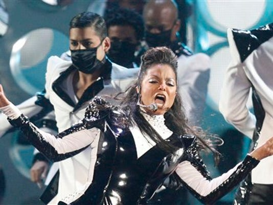 Janet Jackson performs at the MTV Music Video Awards, Sunday, Sept. 13, 2009 in New York.