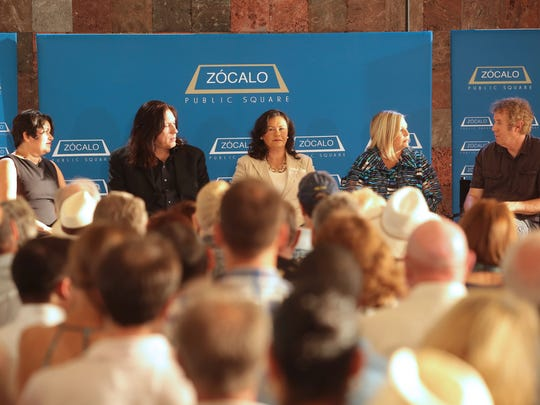 "Los Angeles-based nonprofit Zócalo Public Square and the James Irvine Foundation hosted an event titled, ""Do Arts and Music Festivals Matter?"" in partnership with The Desert Sun, KCRW and Sunnylands Center and Gardens in 2015."