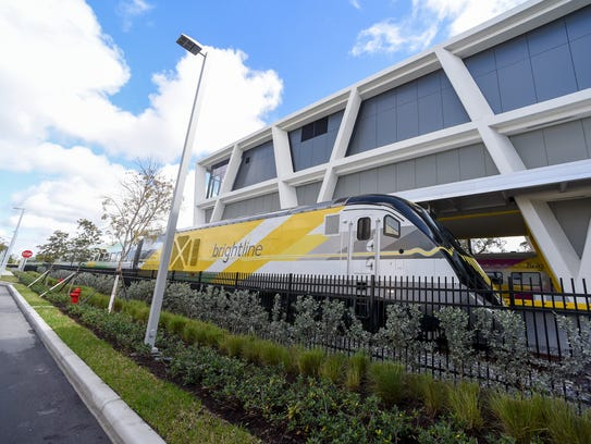 Phase 2 of construction, and extension offull service through the Treasure and Space coasts and on to Orlando International Airport, should be completed by January 2021.