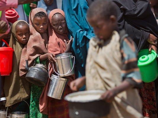 APTOPIX Somalia Food Aid Missing