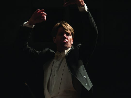 Michael Butterman, conductor for the Shreveport Symphony