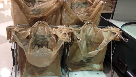 Kitsap County floated a plastic bag ban earlier this year, but it wanted cities to take the lead in adopting ordinances prohibiting the single-use bags.