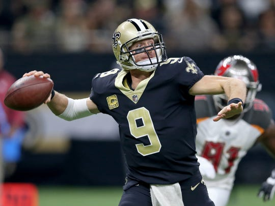 Drew Brees stands only 6-foot tall, but he's one of the greatest quarterbacks in NFL history.