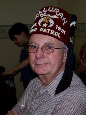 """Everett """"Dean"""" Williamson was a member of the Kalurah Shriners and past president of their mini bike patrol."""