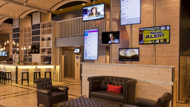 At the TRYP Times Square South, guests can use an app called LobbyFriend that lets them network with fellow hotel guests.