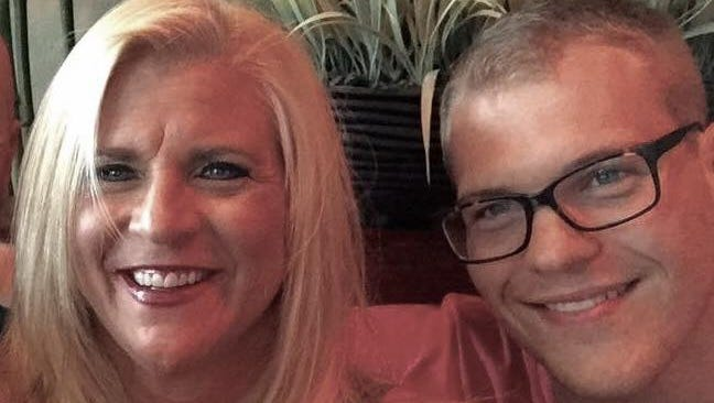 Pamela Knight and her son, Connor, both battled drug addiction.