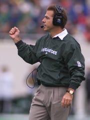 In this file photo, Michigan State coach Nick Saban