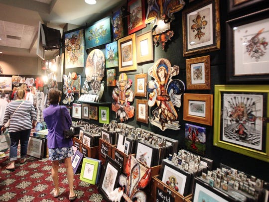 Tinsel & Treasures takes place Sept. 28 to 30.