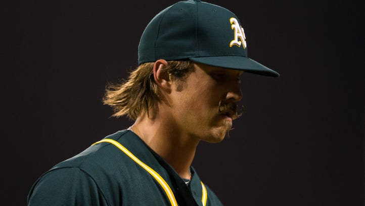 Daniel Mengden, free to be himself, flourishes with the Oakland A's