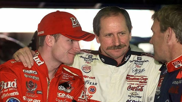 Dale Earnhardt Jr. tells story of getting fired from his dad's car dealership