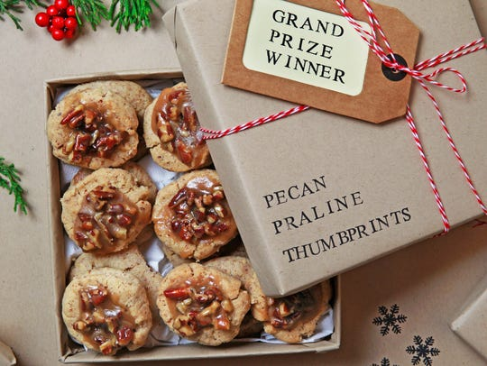 Pecan Praline Thumprints, this year's best of show