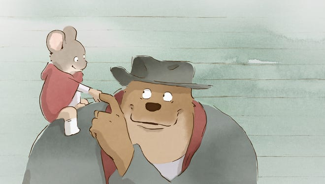 A scene from the animated film 'Ernest & Celestine.'