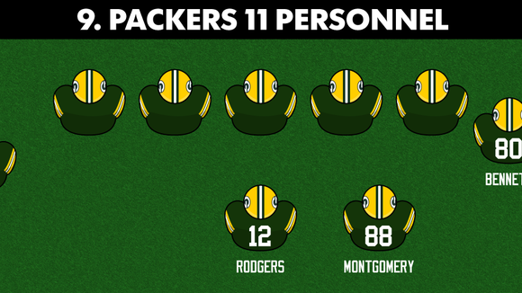 Ranking the NFL's 10 scariest offensive personnel packages for the 2017 season