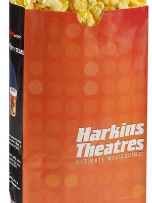 Popcorn from Harkins Theatres.  Credit: Harkins Theatres.