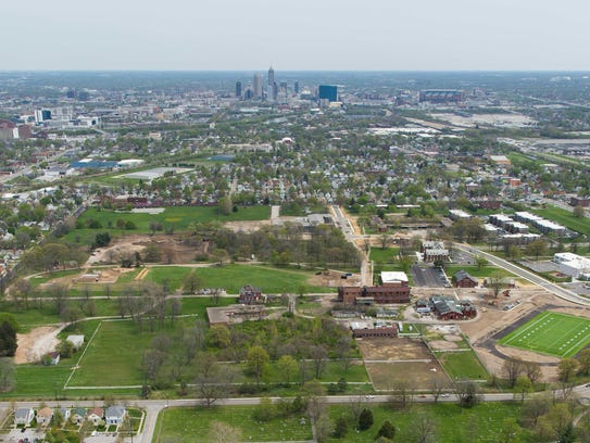 The city of Indianapolis, Holladay Properties and Nottingham