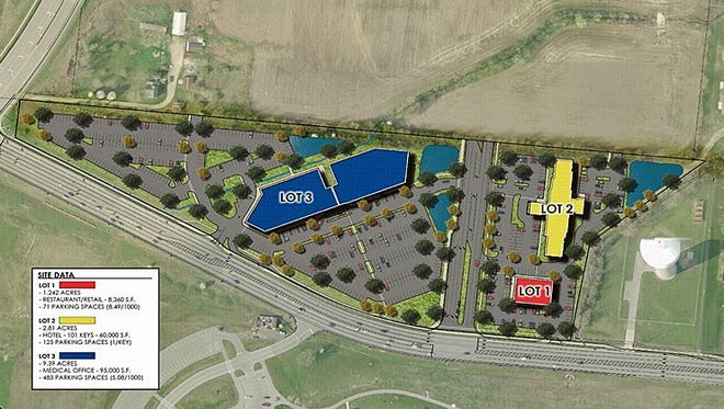 A proposed $40 million project could bring a hotel, medical offices and retail development to Liberty Way at the border of West Chester and Liberty townships.