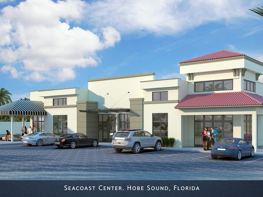 Seacoast Center will feature a Seacoast Bank, Hurricane Grill & Wings and more.
