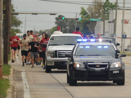 Special Olympics Florida torch run