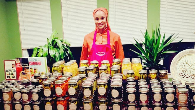 Forever Fresh Preserves is Melissa Blue Muhammad's lines of 16 different pickles, jellies, jams and preserves.