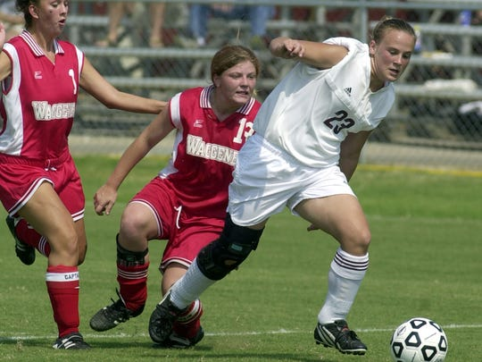 Former Henderson County soccer and basketball player Katie Overton is one of the 2018 inductees into the Henderson County Sports Hall of Fame.