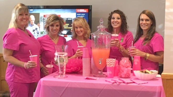 #GoPinkLemonade for Breast Cancer awareness Wednesday
