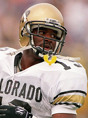 Salaam during his time at Colorado.