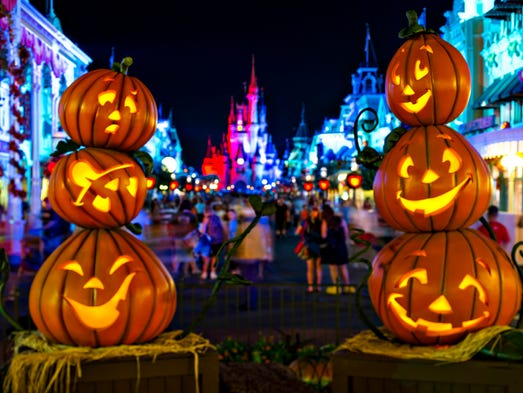Disney parks: A not-so-scary Halloween celebration