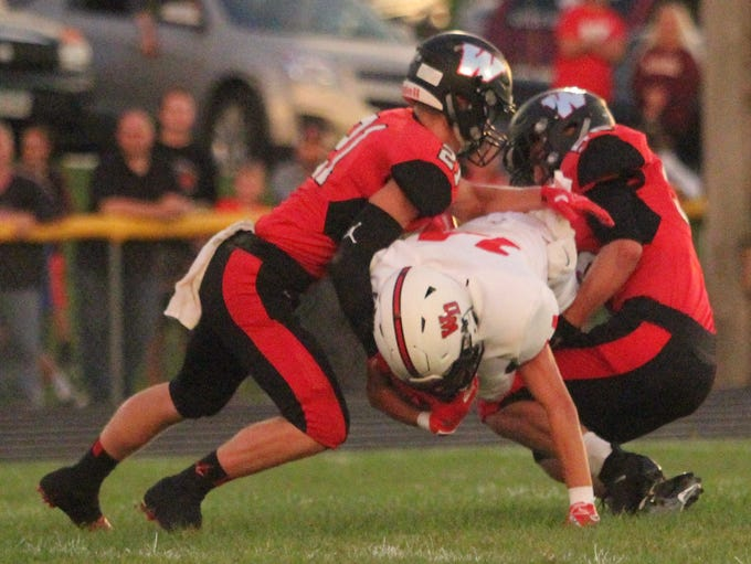 Williamsburg football vs. Western Dubuque Friday, Aug.