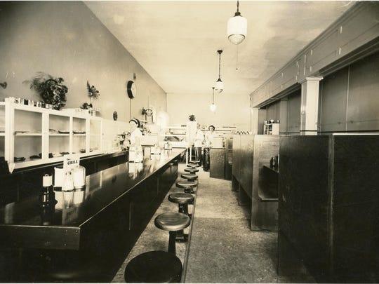 """The Grill fed people in downtown Salem in the 1940s and '50s. Its story is part of an exhibit called """"Eating Salem"""" at Willamette Heritage Center."""