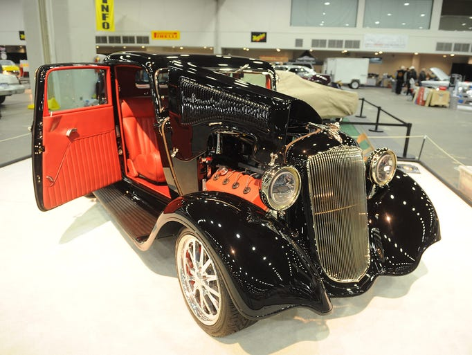 This 1933 Plymouth Rumble Seat Coupe is owned by Jerry