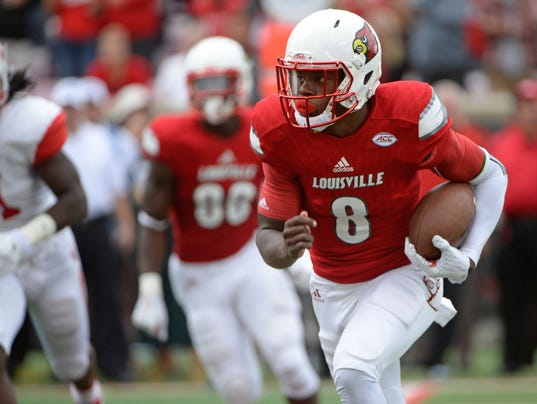 NCAA Football: Houston at Louisville