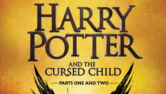 'Harry Potter and the Cursed Child' by J.K. Rowling,