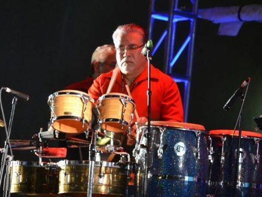 Percussionist and vocalist Raul Montes has been a member of the El Paso Band since 1972. The band will perform at the Border Legends of Rock & Roll Concert on Saturday.
