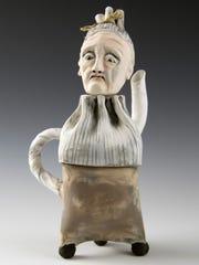 Original, handmade pottery, jewelry and glass art will