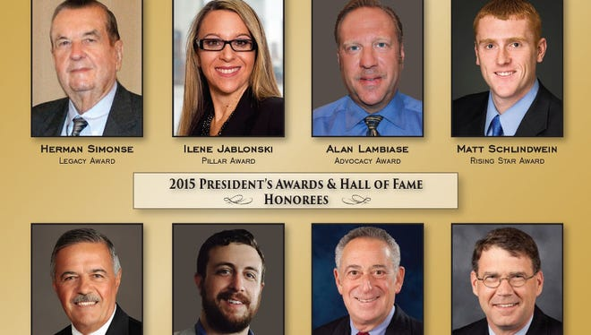 11th annual NAIOP New Jersey President's Awards and Hall of Fame Dinner will honor eight leaders in the commercial real estate industry.
