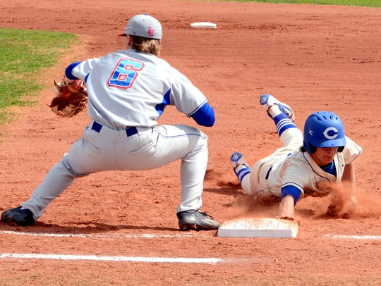 The Carlsbad baseball team began the 2016 season with