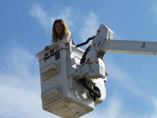 Getting a lift from Pacific Power as part of the Career