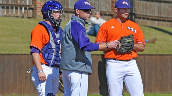 Northwestern State coach Lane Burroughs' Demons swept a three-game series at Abilene Christian.