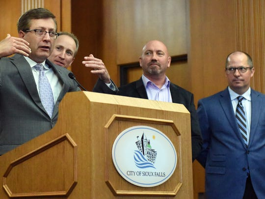 Sioux Falls mayor Mike Huether talks about  a Holiday