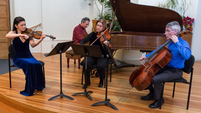 The Finger Lakes Chamber Ensemble will perform its annual Mother's Day Chamber Concert on Sunday