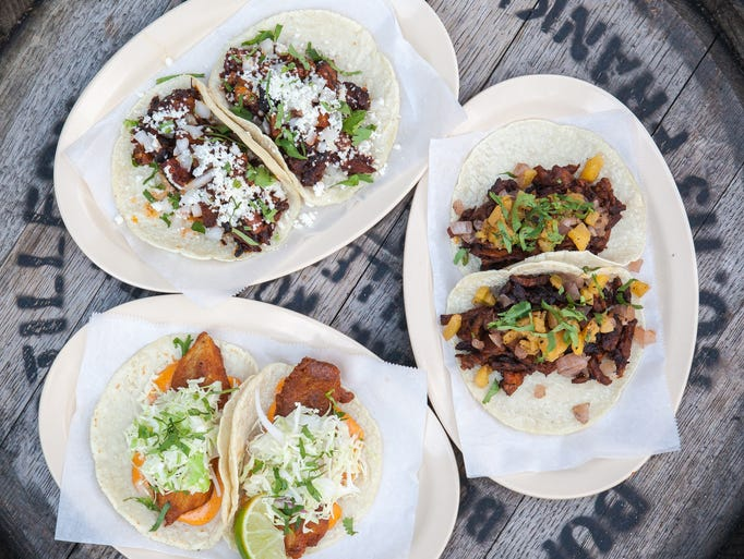 Chicago's Big Star tacos offers eight varieties of