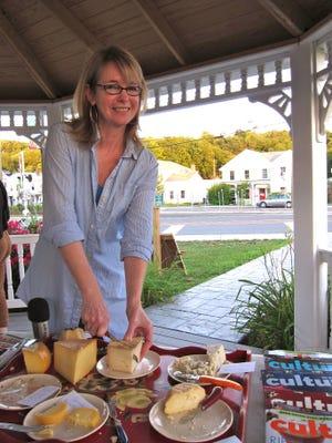 Elaine Khosrova will present a program on butter at Olana State Historic Site on Saturday.