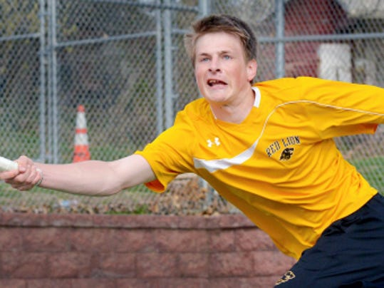 Red Lion's Nick Stare is back playing tennis after being diagnosed with Type I diabetes.