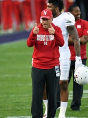 Mike Riley has led Nebraska to one more win already this season than the Huskers had last year in his debut season at the school.