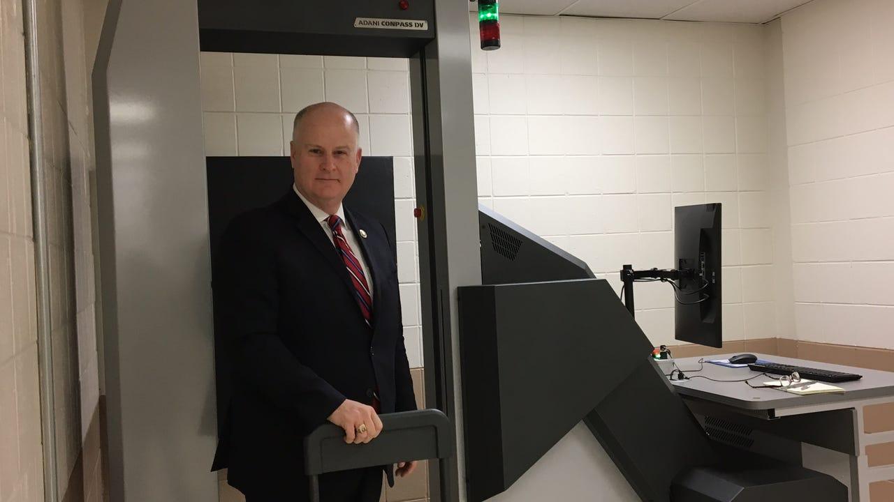 VIDEO: Morris jail installs body scanner for weapons, drug checks